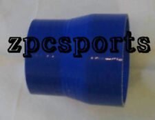 """3"""" to 3.5 Inch Silicone Straight Reducer Hose Intercooler Pipe Silicon, blue"""