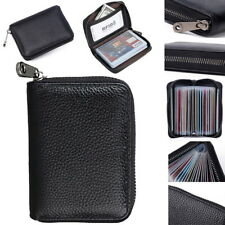 RFID Blocking Mini Leather 22 card Wallet Business Case Purse Credit Card Holder