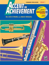 Accent on Achievement, Book 1 Combined Percussion---S.D., B.D., Access. & Mallet