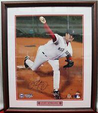 "~Curt Schilling 16x20"" Signed Steiner COA 26x22"" Framed #d142/2004 World Series~"
