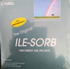90 CYMED The Original Ile-Sorb Absorbent Gel Packets, New Box.     87210