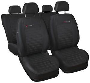 Sitzbezüge Sitzbezug Schonbezüge für Kia Sportage Komplettset Elegance P4