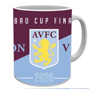 Aston Villa Carabao Cup Finalists 2020 Official 11 oz Mug With Box
