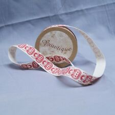 Bowtique Natural Vintage Cotton Russian Dolls Ribbon 15mm x 5m Reel