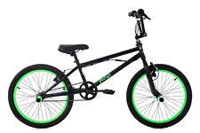 """20"""" BMX Bike Freestyle Fahrrad Rad Yakuza schwarz-neongrün KS Cycling 667B"""