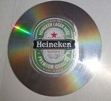 Heineken nice flat sign made of CD;size 12cm; collectable beer sign