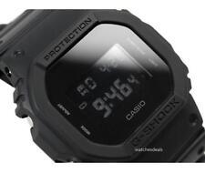 CASIO G-Shock, DW5600BB-1 DW-5600BB-1, BASIC ALL BLACK, DIGITAL, UNISEX