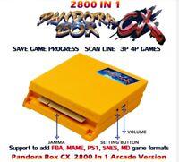2021 Pandora Box cx 2800 in 1 arcade version jamma pcb game board HDMI VGA