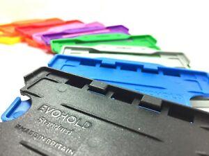 Double Sided Rigid Plastic ID Card Holder (ID Badge Holder) - Free UK POSTAGE