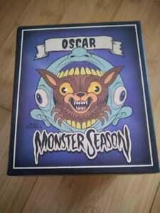 Alex Pardee Monster Season Oscar & the Lycan Throat Figure Loot Fright Exclusive