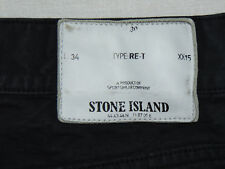 Stone Island Type RE-T XX15   Mens Navy Canvas Jeans  W30 L34