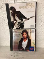 Bruce Springsteen - Born to Run CD + Darkness on the Edge of Town CD - Excellent