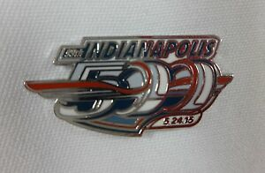 2015 Indianapolis 500 Event Collector Lapel Pin Indy 500 IndyCar