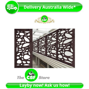 5 PACK - Cayman - Australian Made Privacy Wooden Outdoor Screens - 600x1200mm
