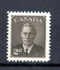 """1950 KING GEORGE VI - """"POSTES-POSTAGE"""" OMITTED, UC# 290, 2c,  IN MNH  COND"""