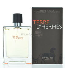 Unsealed Terre D'hermes by Hermes Cologne for Men 3.4 oz New In Box