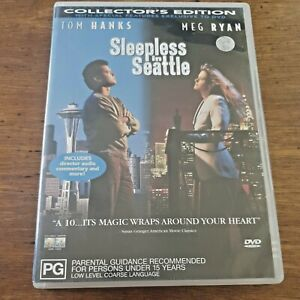 Sleepless in Seattle collector's edition DVD R4 VERY GOOD – FREE POST