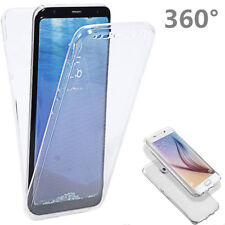 Rubber Front Back TPU Silicone Transparent Case For Samsung Galaxy Note 8