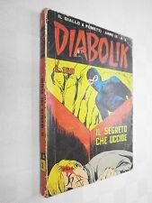 DIABOLIK - ANNO IX n 3 - visitate il negozio ebay COMPRO FUMETTI SHOP