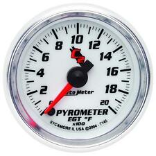 UNIVERSIAL DODGE FORD CHEVY AUTO METER C2 SERIES PYROMETER GAUGE 7145..
