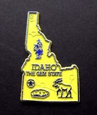IDAHO THE GEM POTATO US STATE FLEXIBLE MAGNET 2 inches