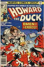 Howard The Duck #13 1977 Vf/Nm 9.0 1St Full Kiss Appearance Damion Hellstrom