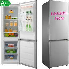 A+++ Kühl-Gefrierkombination Edelstahl Kühlkombi Kühlschrank Gefrierschrank NEU!