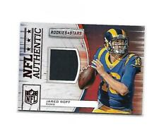 2018 Panini Rookies & Stars Jared Goff #A-13 Jersey Patch Rams