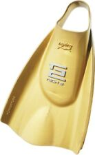 Soltec-swim Hydro-Tech 2 Fin Swim Hard Type Gold Size L 201181 From Japan EMS