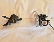 Shimano Acera Front Derailleur FD-T3000-TS and Gear Shifter SL-M3000