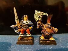 Citadel, Warhammer Fb, Age of Sigmar Felix & Gotrex Metal Oop Well Painted Rare