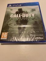 😍 jeu fr playstation 4 ps4 ps5 5 call of duty modern warfare remastered neuf
