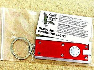 Eagle Claw Glow Jig Charging Light Key Chain ( #ICJCL1 )