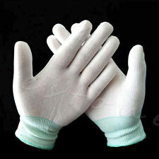 Pair Nylon Quilters Free Motion Machine Quilting Sewing Grip Gloves Fingertip