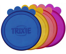 Trixie Dog Cat Pet Food Tin Can Lid Cover Covers Caps Small Extra Large 10cm 2pk