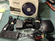 EUC Sirius Stiletto sl100 SL10 Home Docking kit only! slh1 XM READ ALL COMPLETE