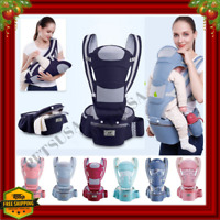 0-48M Ergonomic Baby Carrier Infant Bag Hipseat Carrier Front Facing Kangaroo