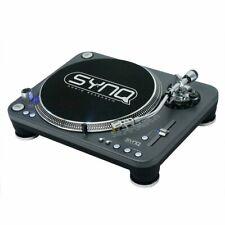 Synq X-TRM1 DJ Plattenspieler Direct Drive Motor Profi DJ Turntable