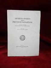 ARCHIVIO STORICO PROVINCE NAPOLETANE - Anno XI-XC - 1973