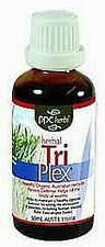 PPC HERBS Herbal Tri Plex 50ml TRIPLEX Parasitic Defence Eliminate Worms Flukes