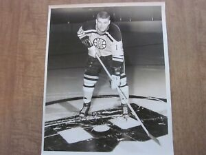 1966-67 Boston Bruins Gilles Marotte Team Issued Photo