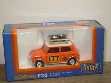 Morris Mini Cooper S MK-I Rallye Monte Carlo - Tomica Dandy F26 1:43 Box *36676