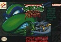 Tournament Fighters Teenage Mutant Ninja Turtles - Nintendo SNES Game Authentic