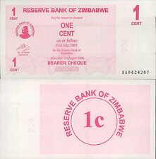 RESERVE BANK OF ZIMBABWE 1 CENT UNC (rif. 245 )