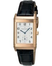 JAEGER-LeCOULTRE REVERSO GRANDE TAILLE 18K ROSE GOLD HAND WINDING WATCH $15,800