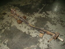 1935-6 Packard  Std/Su-8 Front Axle, Spindles etc.