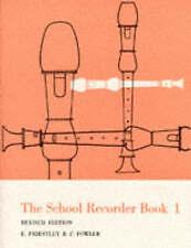 School Recorder Books: Bk. 1 by Edmund Priestley, F. Fowler (Paperback, 1991)
