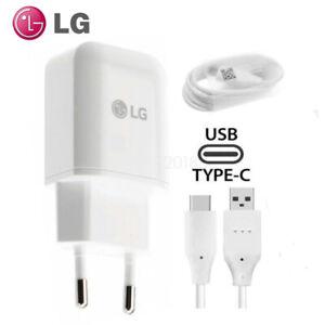 Original LG MCS-H05ED Schnell Ladegerät Typ C USB Kabel Für LG V30 G5 G6 V20