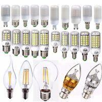 E27 E14 G9 2/4/6/8/12/16/18W LED Edison Filament Globe Light Corn Bulb Xmas Lamp