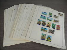 TUVALU, MINT(most NH) Stamps mounted on Scott International pages